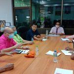 ประชุมติดตามความก้าวหน้าการเปิดการสอนระดับปริญญาตรี