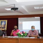 ประชุมเพื่อปรึกษาหาหรือข้อราชการต่างๆ ก่อนเปิดภาคเรียนที่ 1 ปีการศึกษา 2563