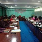 ประชุมเตรียมการดำเนินงานเรื่องเปิดศูนย์ทดสอบฝีมือแรงงาน รวมถึงเกณฑ์การประเมินผลการเรียนประจำปีการศึกษา 2563
