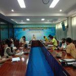 การประชุมคณะทำงานกองลูกเสือวิสามัญและเนตรนารี วิทยาลัยเทคนิคจันทบุรี