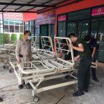 ผู้อำนวยการวิทยาลัยเทคนิคจันทบุรี เข้าเยี่ยมการดำเนินงานซ่อมเครื่องมืออุปกรณ์การแพทย์ สำหรับผู้ป่วยติดบ้าน ติดเตียง ในจังหวัดจันทบุรี