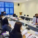 การประชุมคณะกรรมการคัดเลือก คัดสรรผู้รับพระราชทานทุนการศึกษาพระราชทานฯ รุ่นที่ 13 ปีการศึกษา 2564