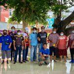 วิทยาลัยเทคนิคจันทบุรีดำเนินงานทำความสะอาดบริเวณศูนย์การเรียนรู้เพื่อบริการชุมชน (โดม)